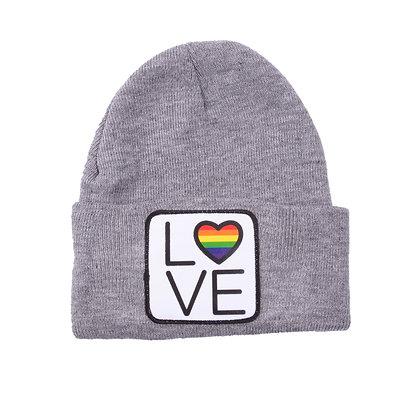 Beanie - grijs | LOVE