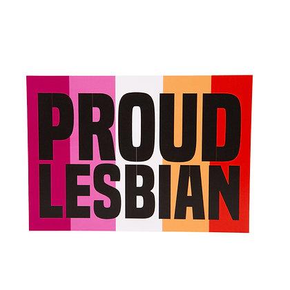 Postcard | Proud Lesbian