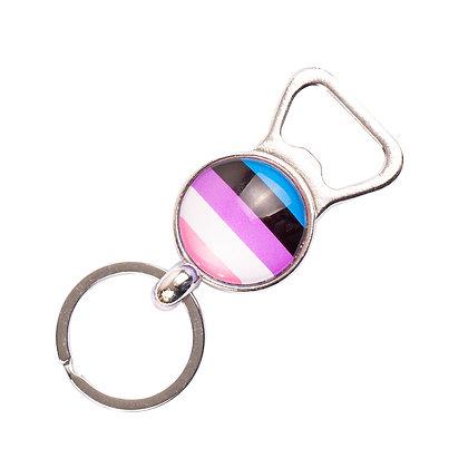 Sleutelhanger | Genderfluid