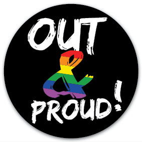 Sticker | Out & Proud