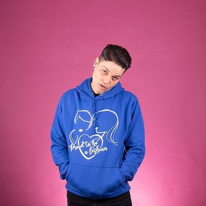Hoodie | blauw