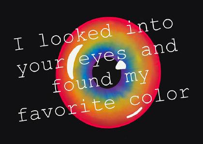 Ansichtkaart   Your Eyes