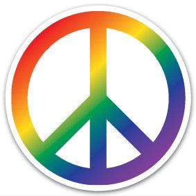 Sticker | Peace Rainbow
