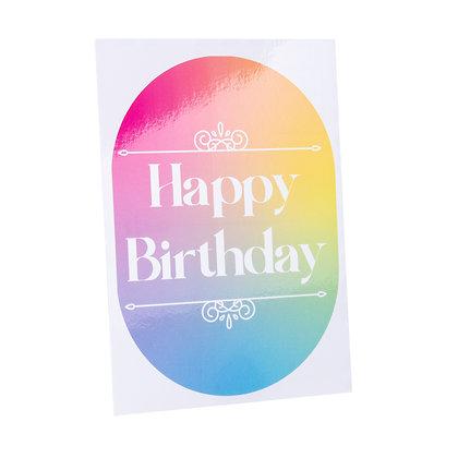 Verjaardag | Happy Birthday - Pan