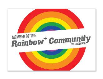 Sticker | Rainbow+ Community