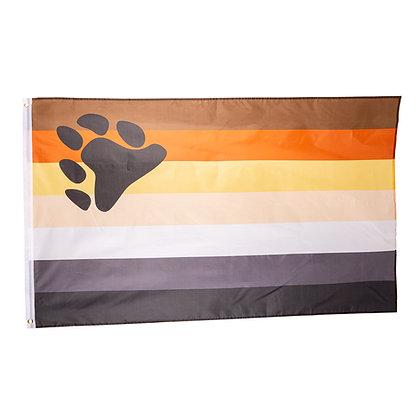 Vlag | Gay bear 90x150