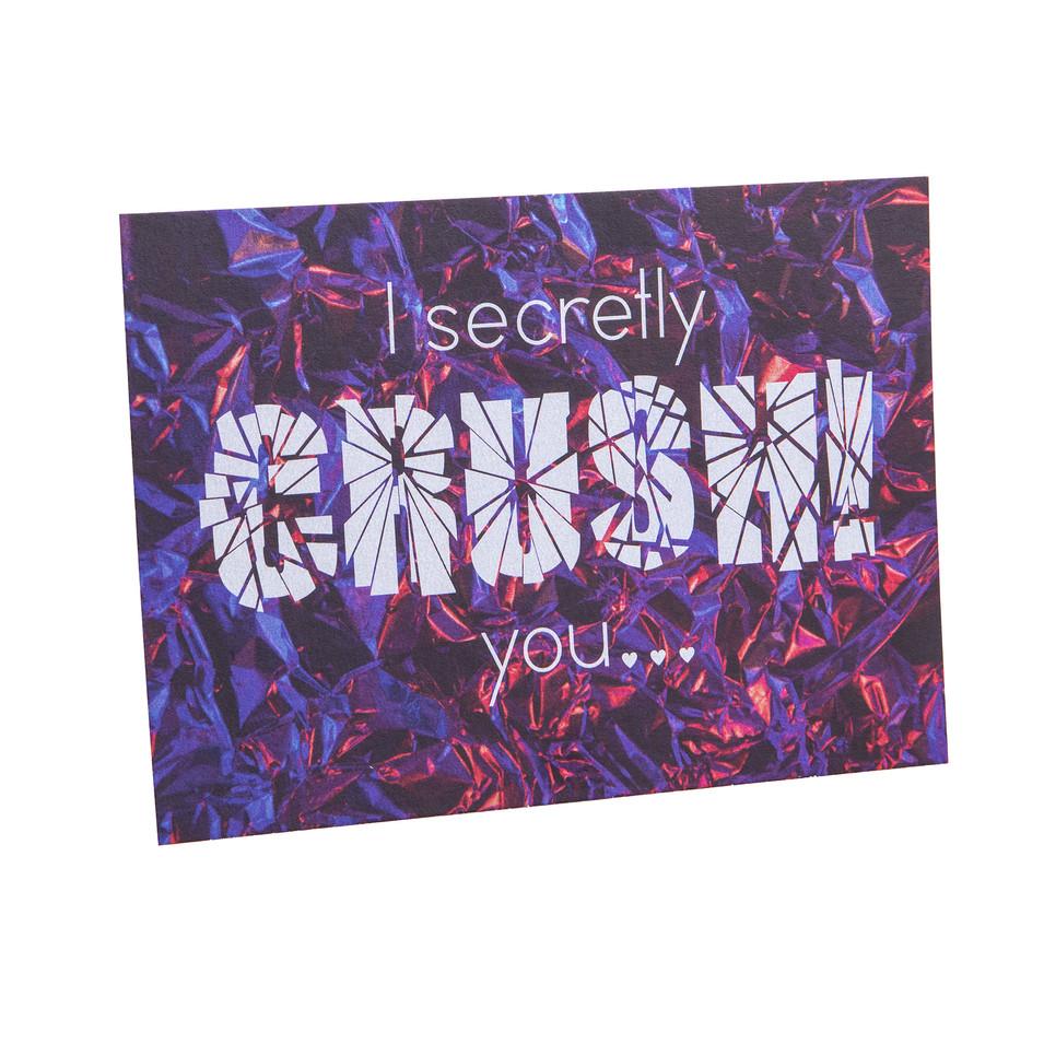 I secretly crush you