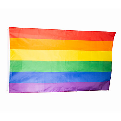 Vlag | Regenboog 90x150