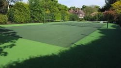 Tennis Court Refurbishment