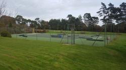 Tennis Court Fencing Refurbishment