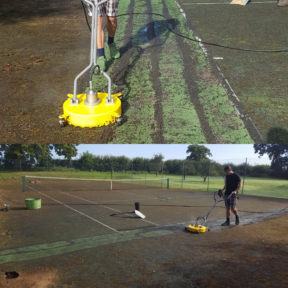 Tennis Court Maintenance and Refurbishments by Absolute Tennis Courts Ltd