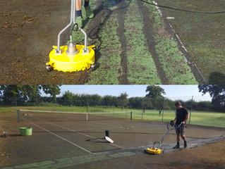 Tennis Court Maintenance by Absolute Tennis Courts Ltd