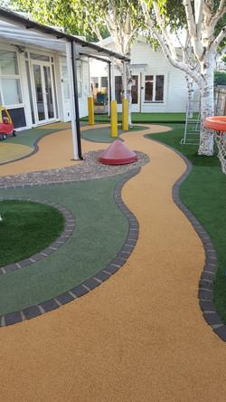 Rubber Crumb Playground