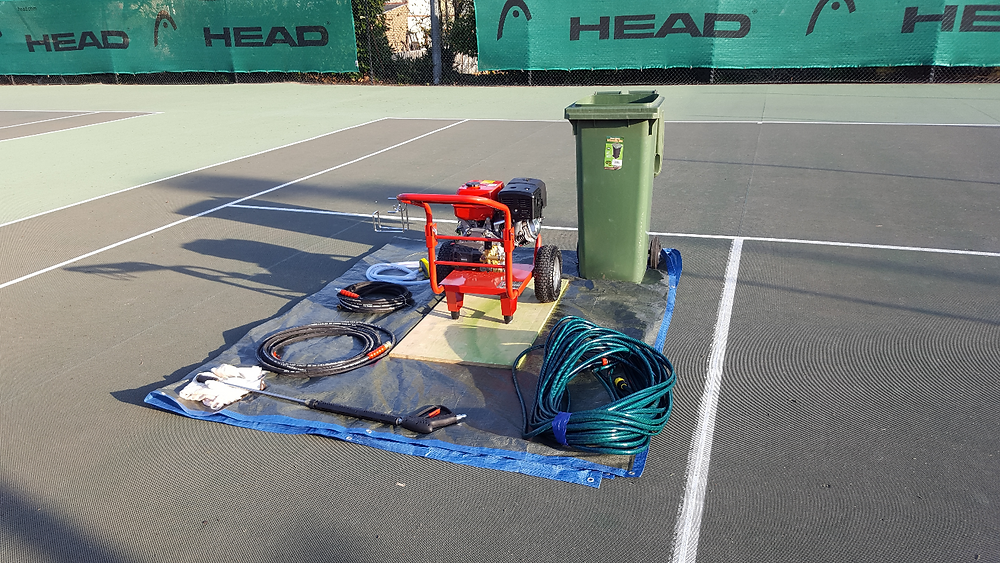 Absolute Tennis Courts Limited Pressure Washing