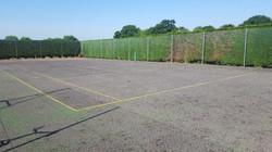 Tennis Court Tree Root Repairs