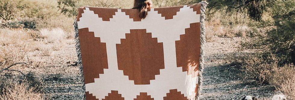 Maurie Blanket Rust
