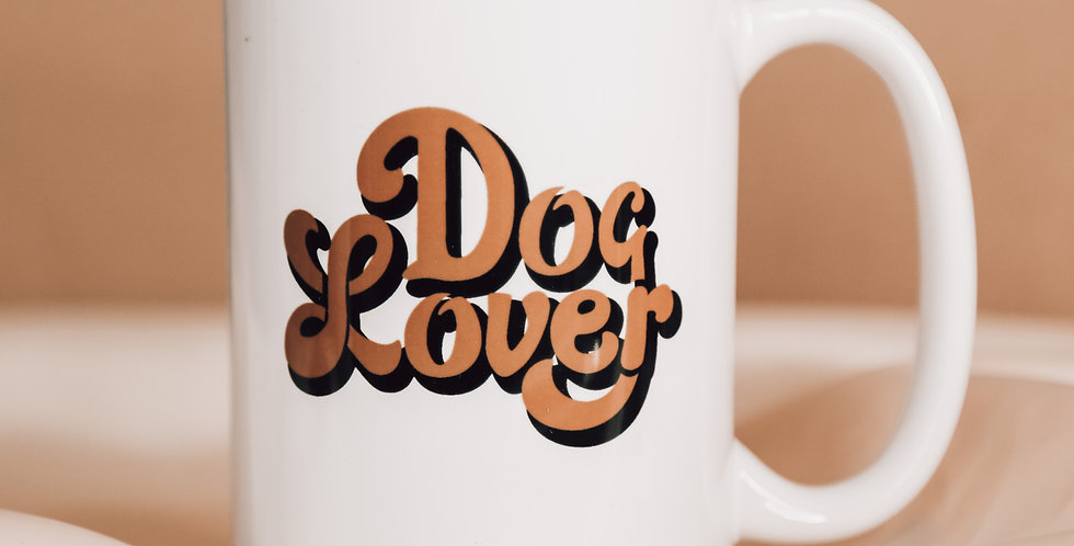 Dog Lover Mug 15oz