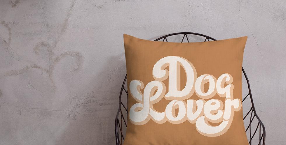 Dog Lover Premium Pillow