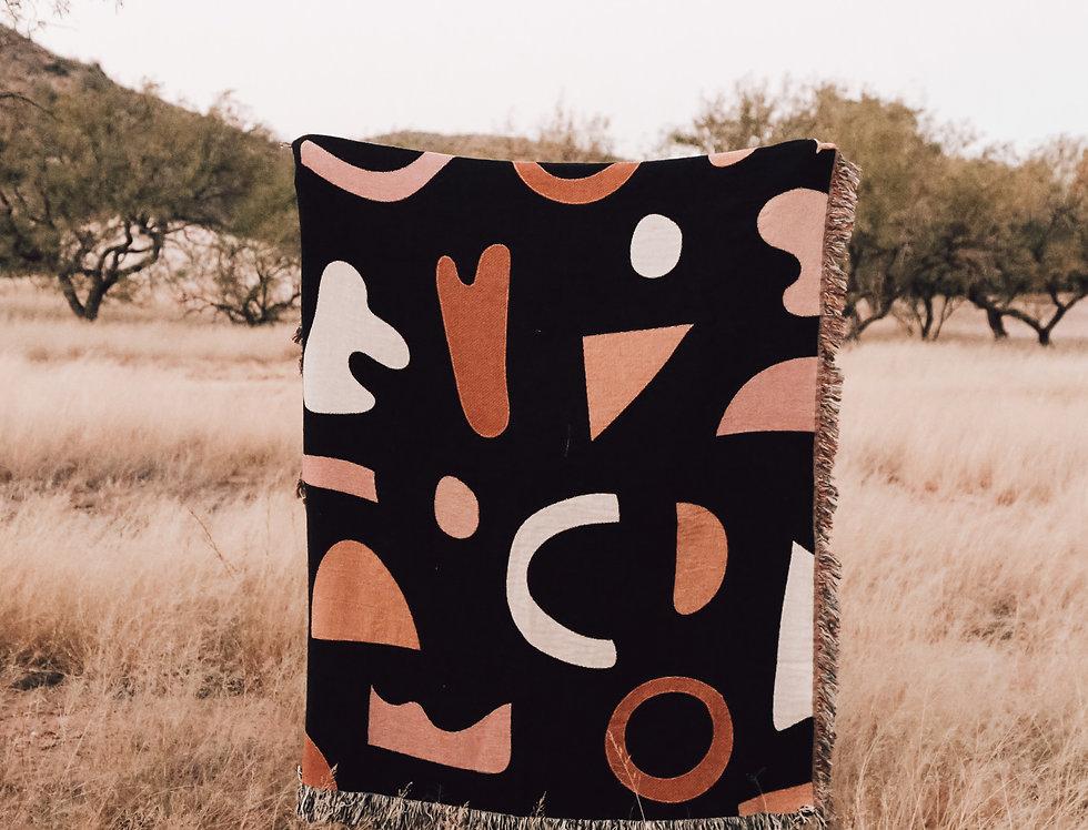 Dark Geo Blanket