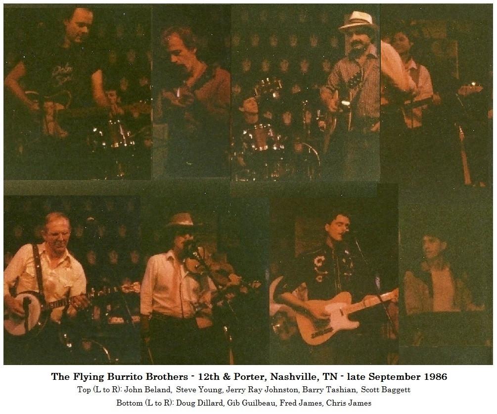 Burritos Sept. 1986