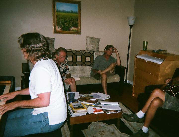 1st rehearsal 2009.