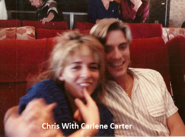 Chris With Carlene Carter
