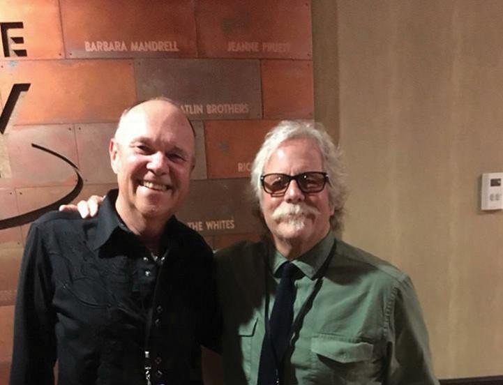 Bob Hatter & Chris Hillman at The  Opry.
