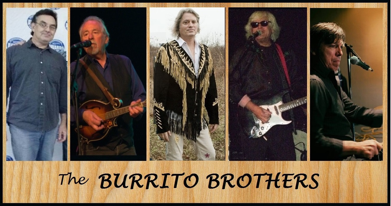 Burrito Brothers promo for a gig in 2016