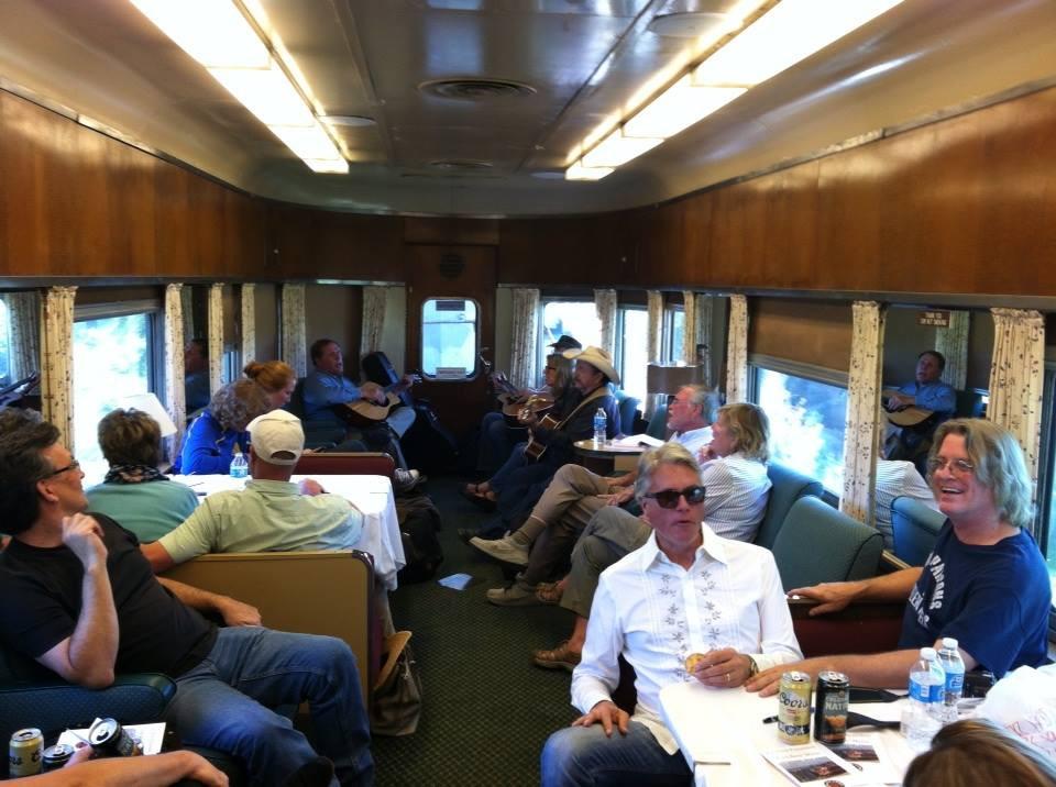 On the train in Colorado 2015