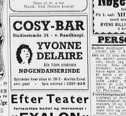Annonce fra år 1950