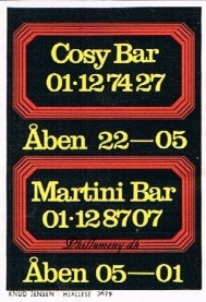 Cosy & Martini Bar
