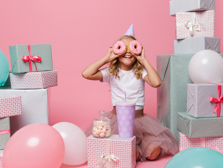 Un par de ideas para celebrar el cumpleaños de tus hijos en cuarentena
