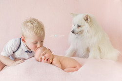 newbornfotografie Little Sunshine