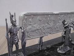 """Перьевая ручка на художественной подставке """"Римская конница"""""""
