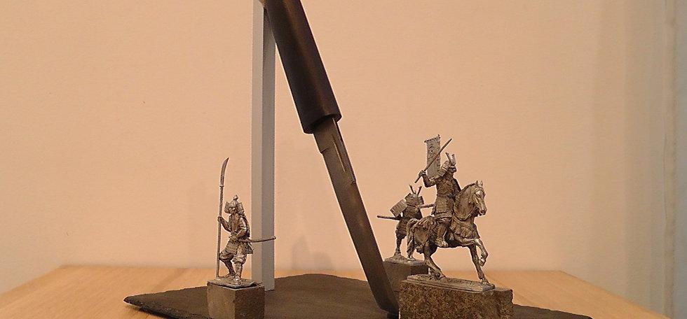 """Композиция с ножом """"3 самурая"""""""