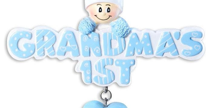 OR1181-B - Grandma's 1st In Light Blue Cap