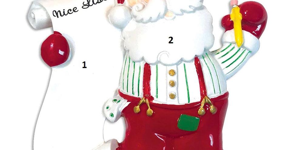 OR812 - Santa's List