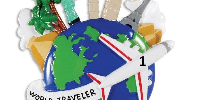 OR1415 - World Traveler Globe