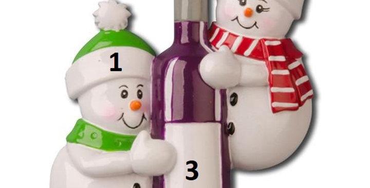 OR1023 - Wine Bottle Couple