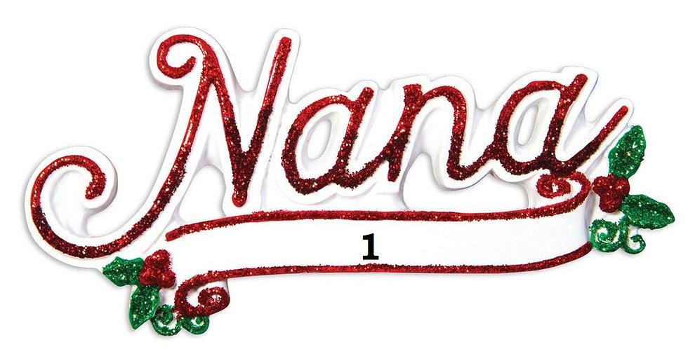 OR1514 - New Nana Christmas Ornament