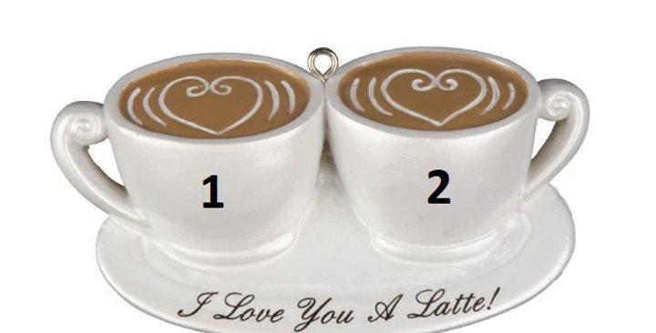 OR1129 - Couple I Love U Latte