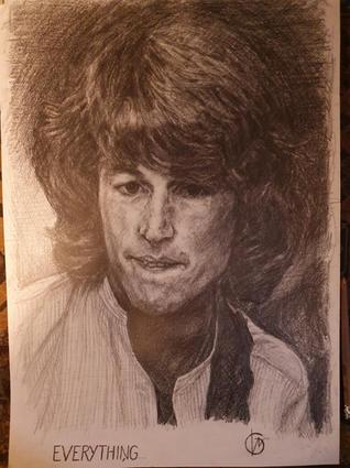 Portræt af Andy Gibb, 2021