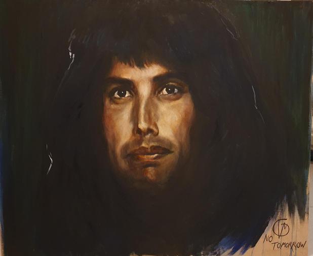 Portræt af Freddie, 2021