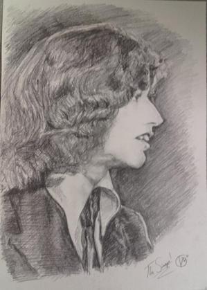 Portræt af Robin Gibb. The Singer 2018