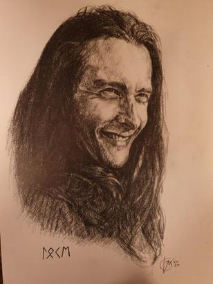 Portræt af René, Loki 2020