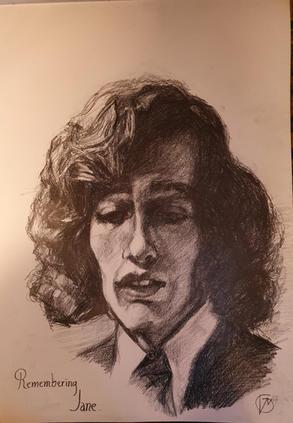Portræt af Robin Gibb, Remembering Jane. 2020