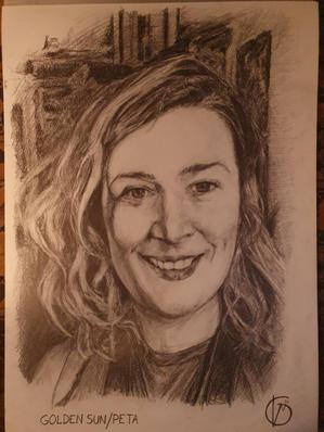 Portræt af Peta Weber,  2021