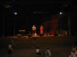 Utekonsert i Albir, Spania (2002)