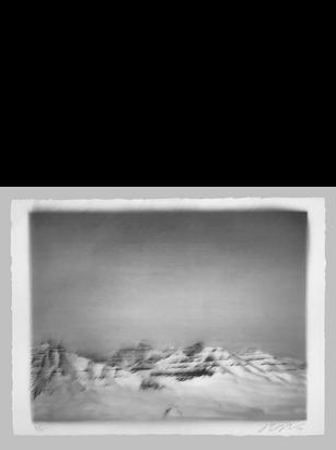 Untitled (Deglaciated Mountains), 2017