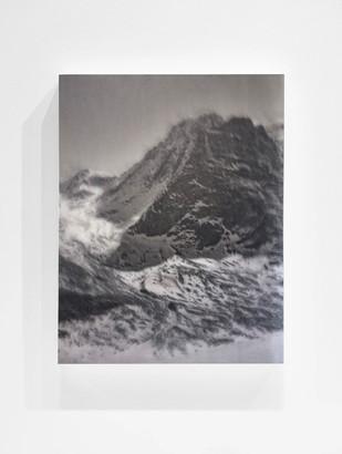 Glaciated Mountain Study - No. 107, 2017